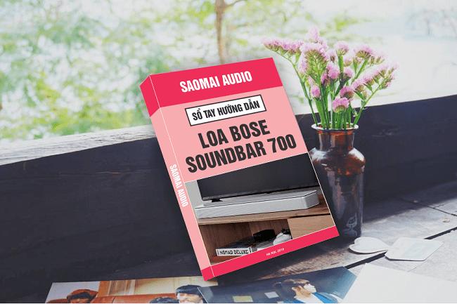 sổ tay hướng dẫn loa bose soundbar 700