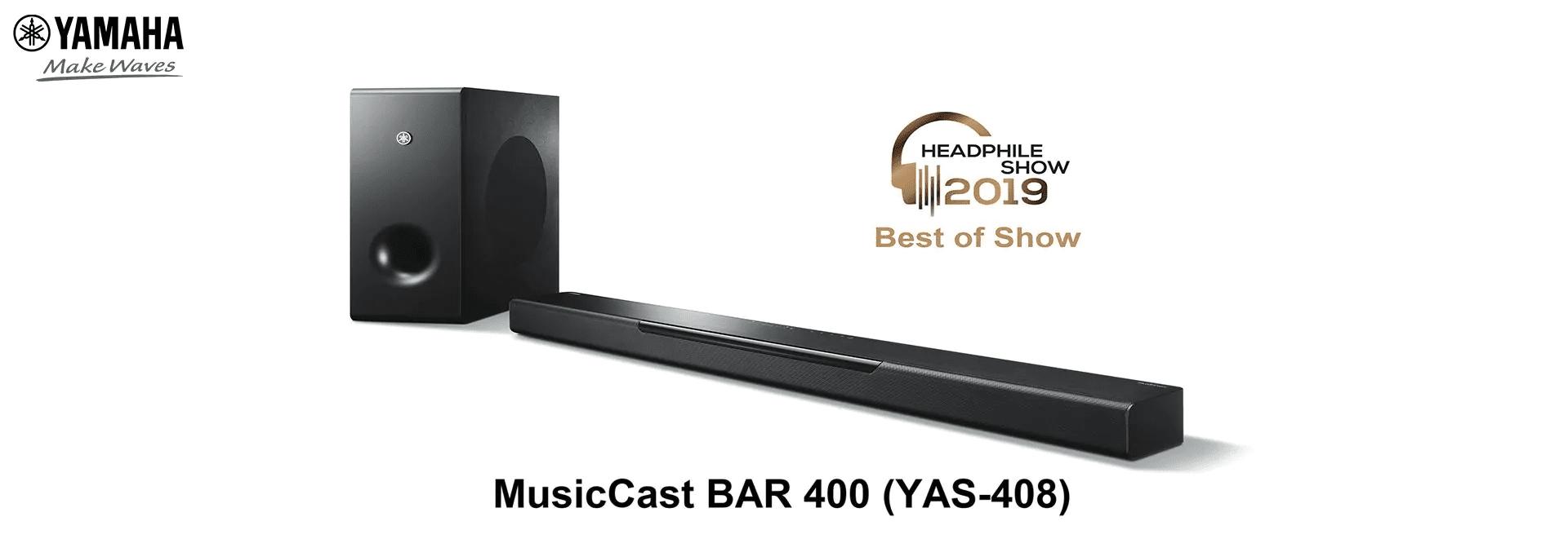 Giải thưởng Best of Show loa Yamaha MusicCast Bar 400