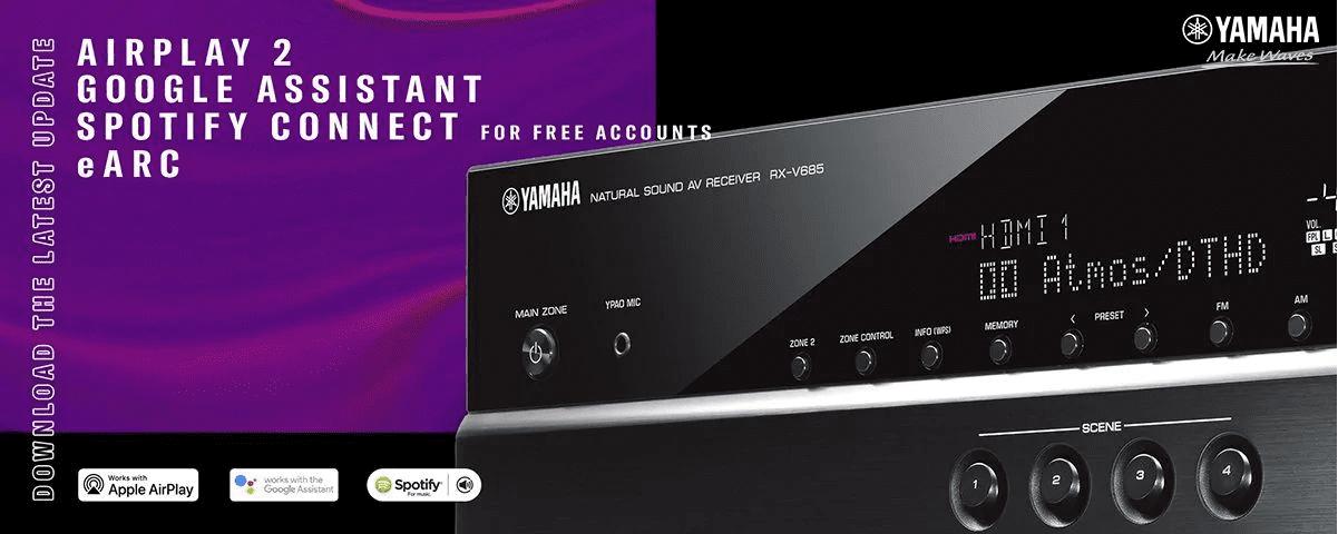 Mua amply xem phim Yamaha RX-V Series - Dòng AV Receiver hiện đại