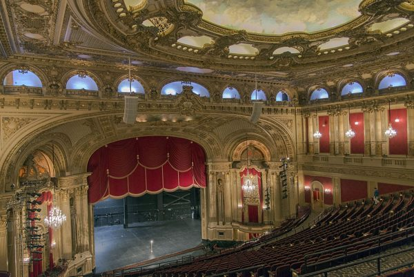 lắp đặt loa bose roommatch tại boston opera house