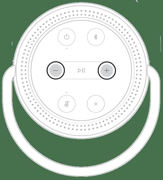 chỉnh âm lượng bose home speaker