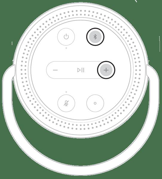 khôi phục mặc định bose home speaker