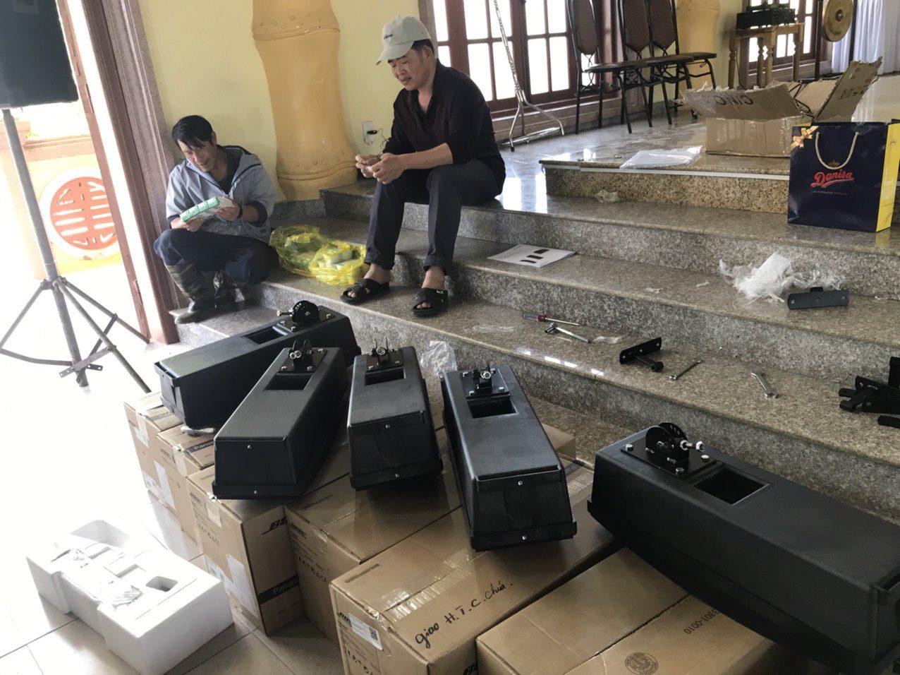 lắp đặt âm thanh nhà thờ loa bose 402 series iv