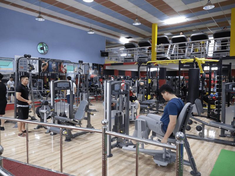 cách bố trí âm thanh phòng tập gym, yoga