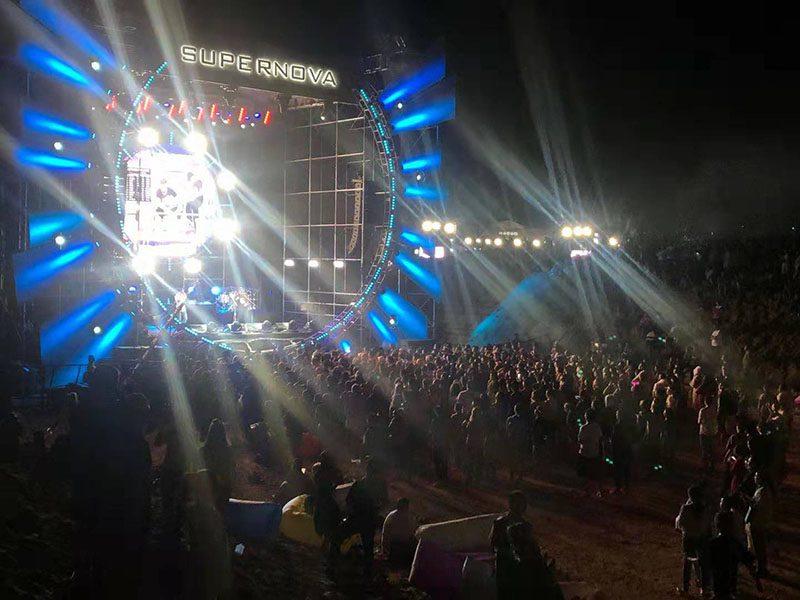 Hệ thống Bose ShowMatch đã được triển khai tại sân khấu Supernova của MTA Festival.