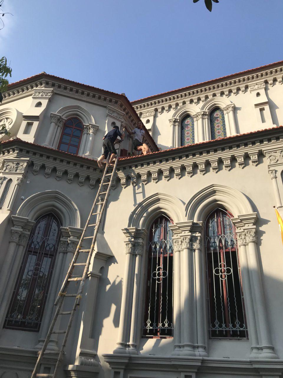 Lắp đặt âm thanh nhà thờ Tân Độ
