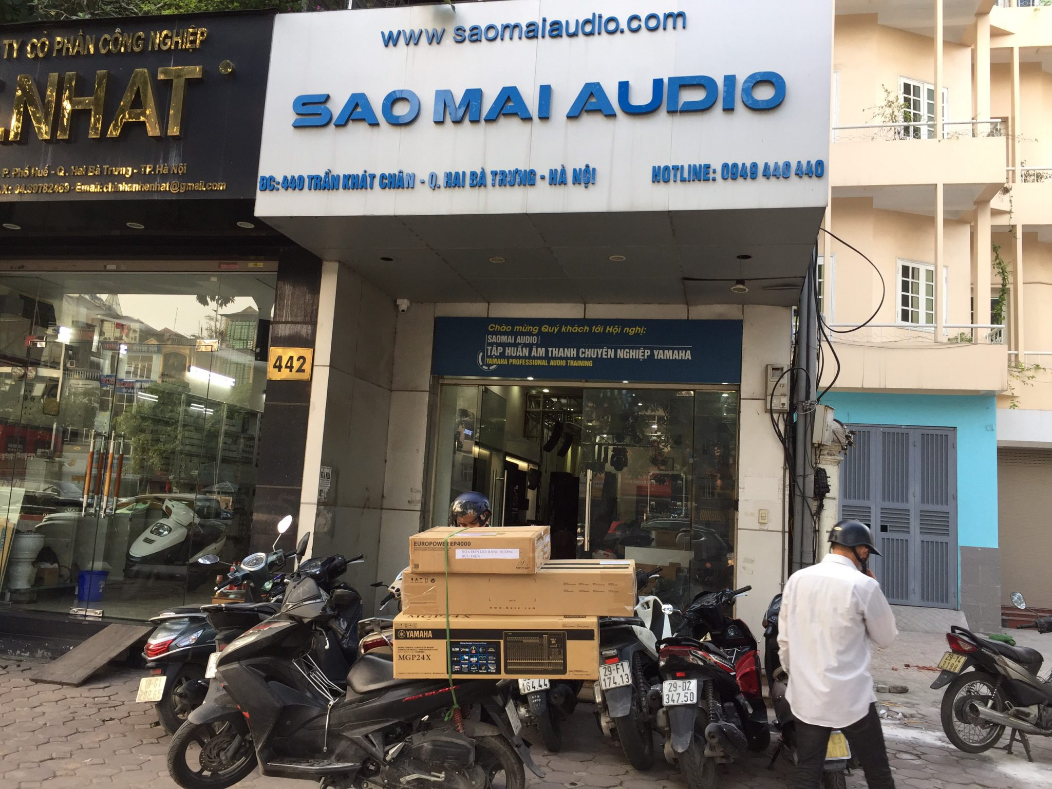 Saomai Audio - Lắp đặt âm thanh chính hãng số 1 Việt Nam