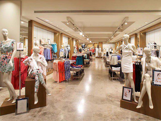 Hệ thống âm thanh cửa hàng thời trang quần áo