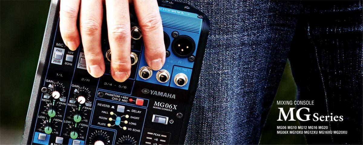 mixer yamaha thiết kế nhỏ gọn