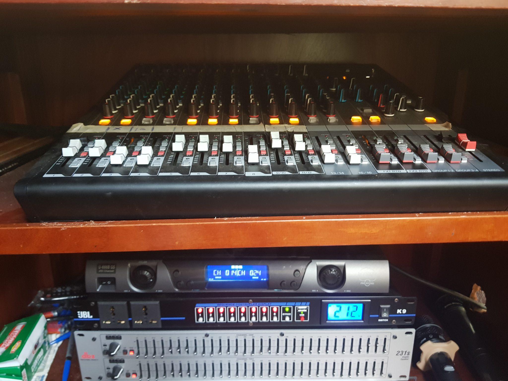 hệ thống âm thanh nhà thờ hòa khê