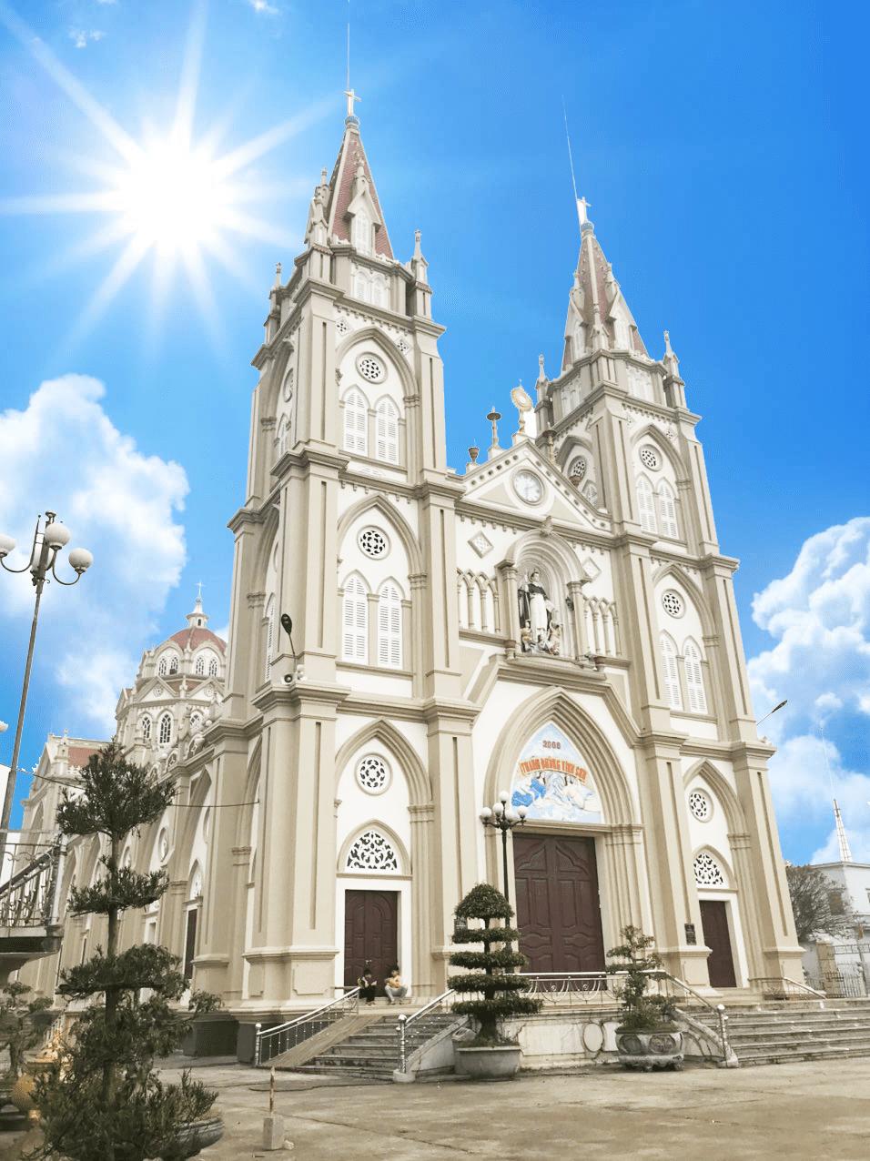 nhà thờ an lạc thái bình