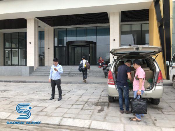 Loa Ohm tại khách sạn Innsi Hạ Long (Quảng Ninh)